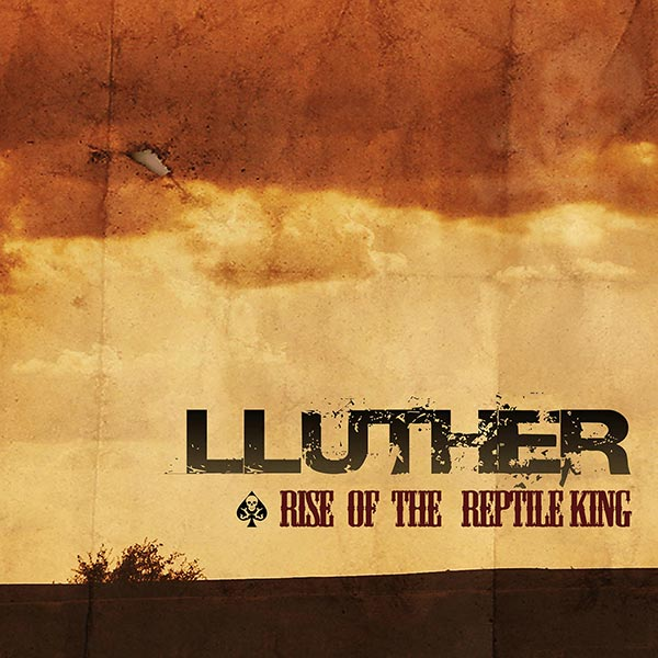 Lluther - The Rise Of The Reptile King Album Artwork